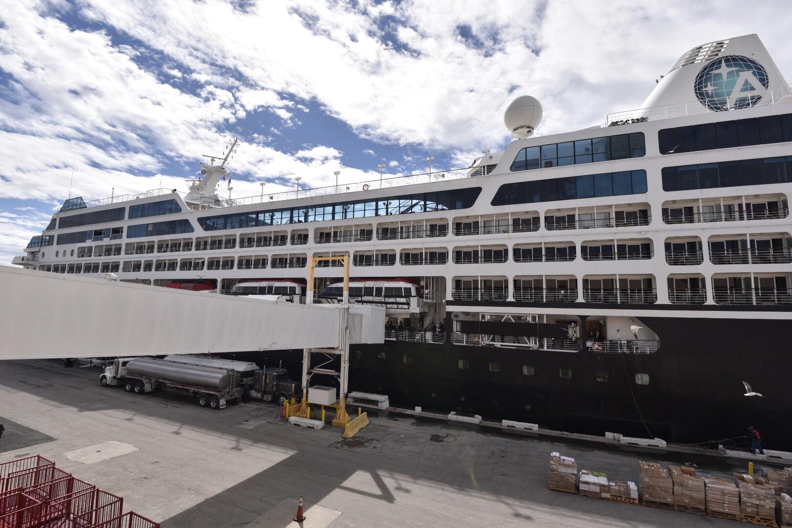 Azamara Journey docked in Miami