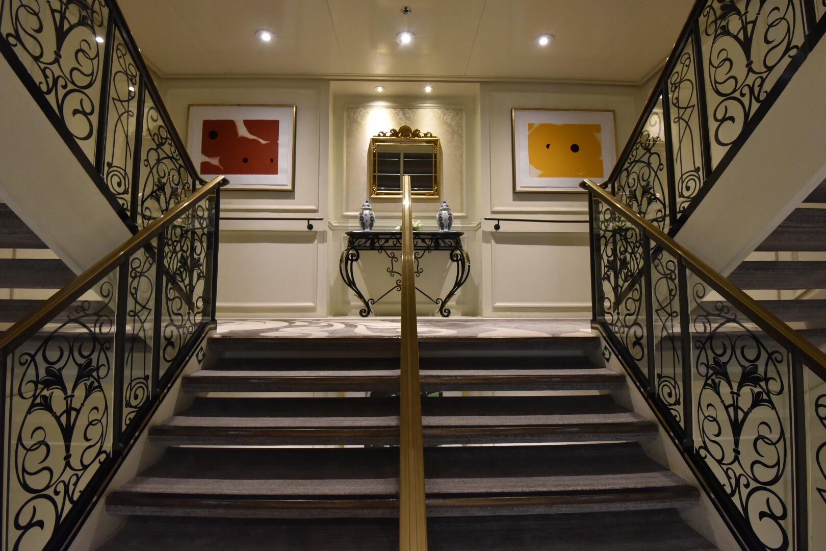 Stairwell art work (deck 7-8)
