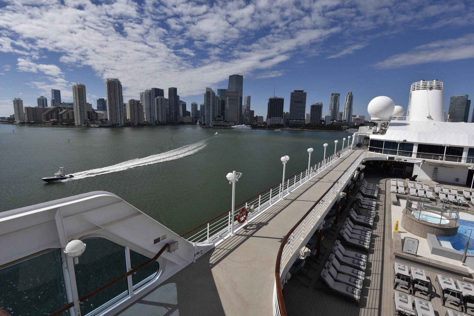 Miami from the Azamara