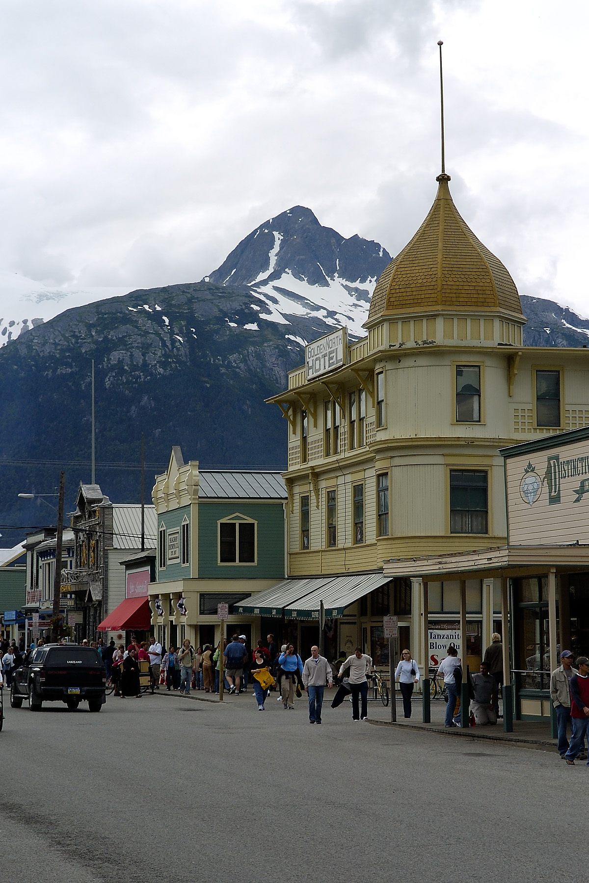 Port Area in Skagway