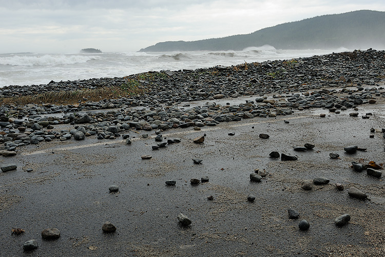 After a fall hurricane, Schoodic Point in Acadia National Park, where seeing the power of the ocean was a popular attraction itself...just take are to stay far away from danger!