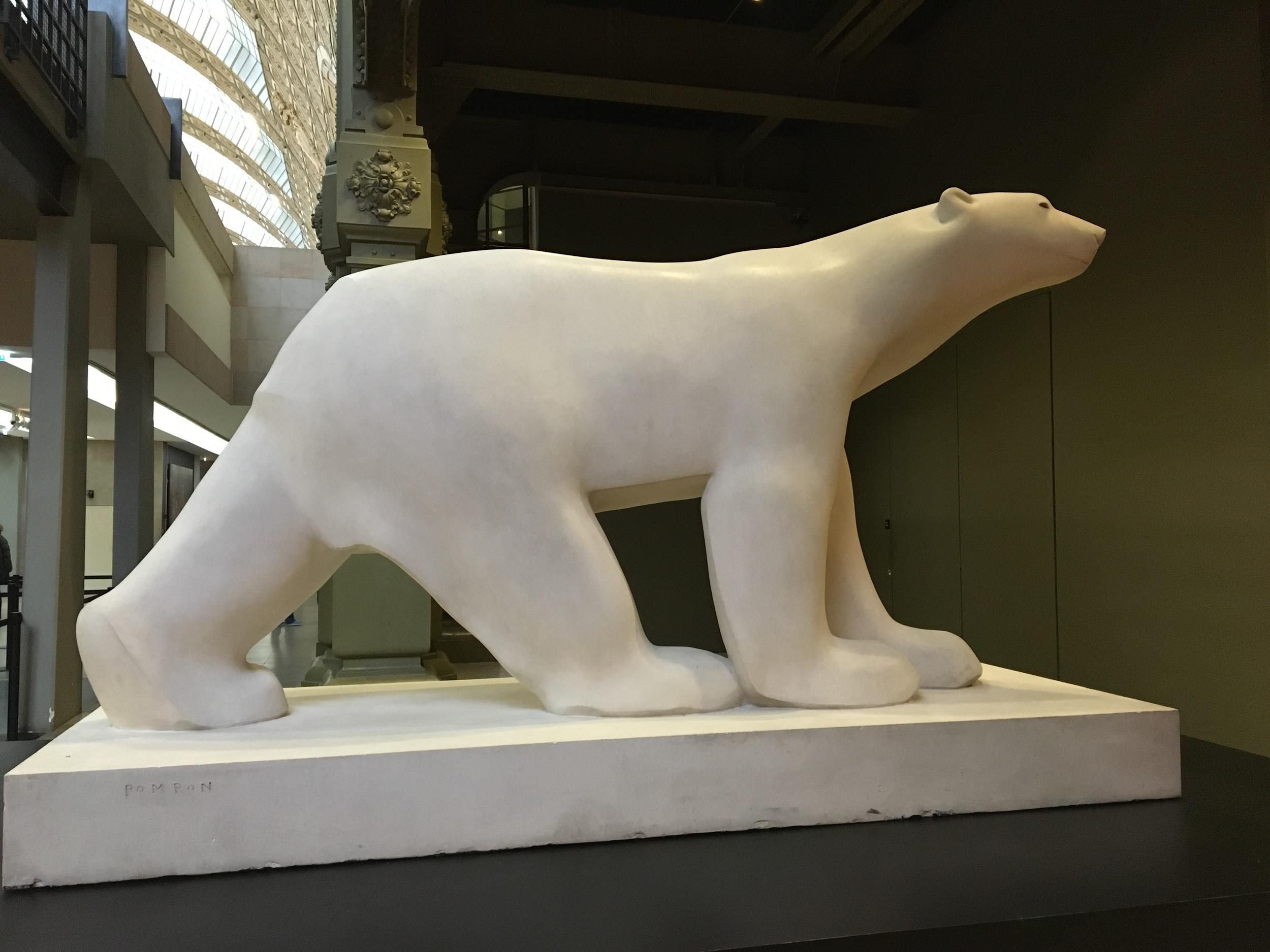 polar bear by Francoise Pompon