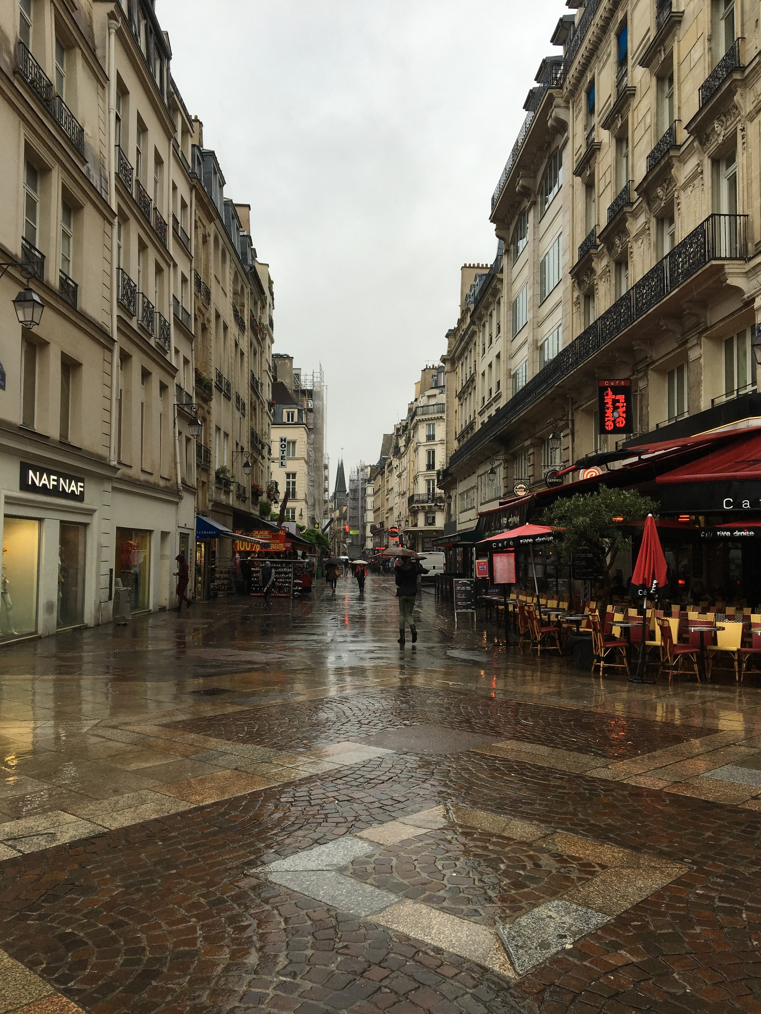 A street view in Les Halles