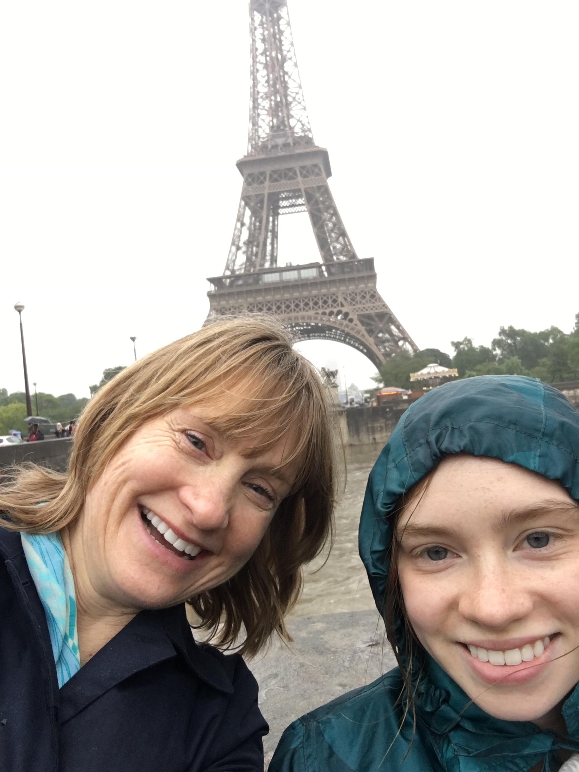 A little (a lot!) of rain didn't discourage us from a walk through Paris...it might not have been how we imagined it, but it ended up being an unimaginably great trip!