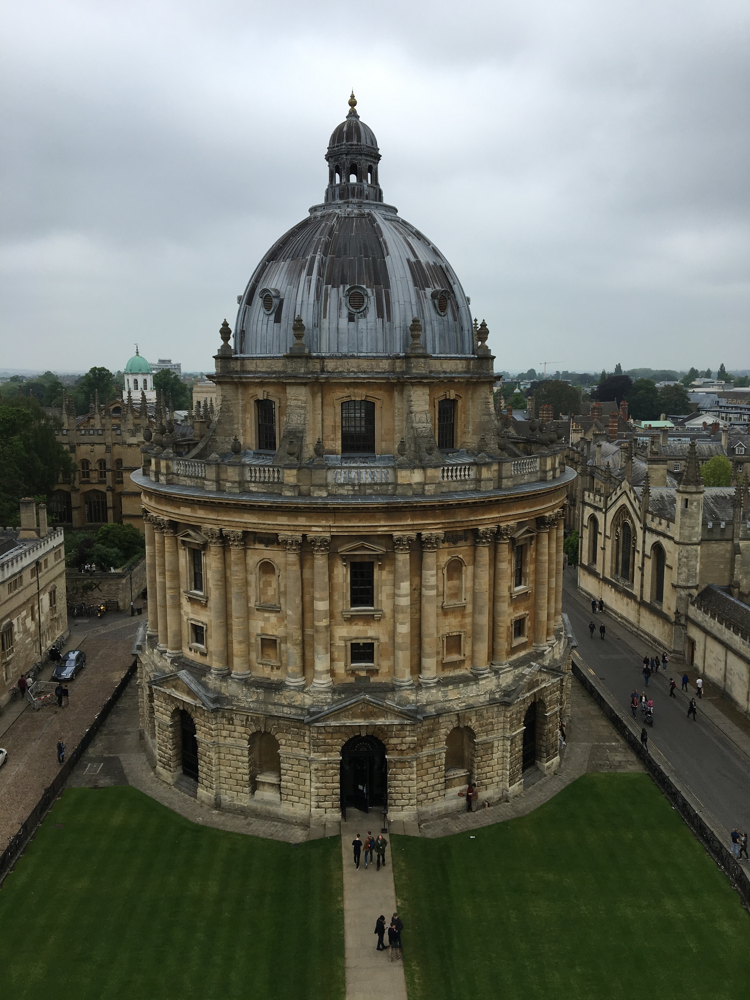 The Bodleian from St Mary's