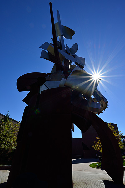 The Pawley Sculpture at Rochester Institute of Technology