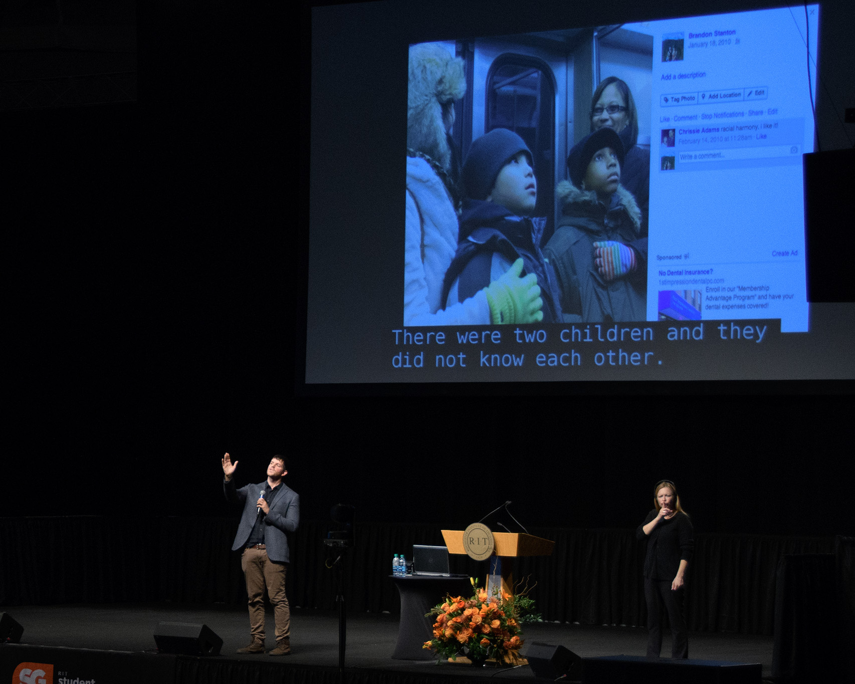 A recent talk by Brandon Stanton, founder of HONY, was inspirational!