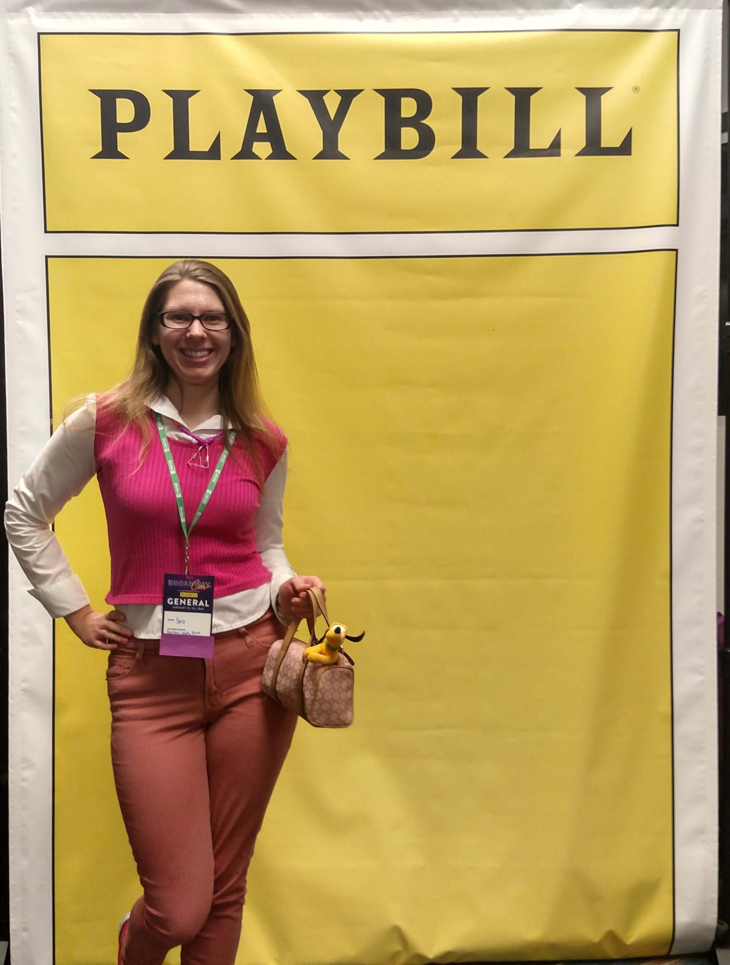 "Sara E as ""Elle"" from Legally Blond at the first Broadway Con in NYC Jan 2015"
