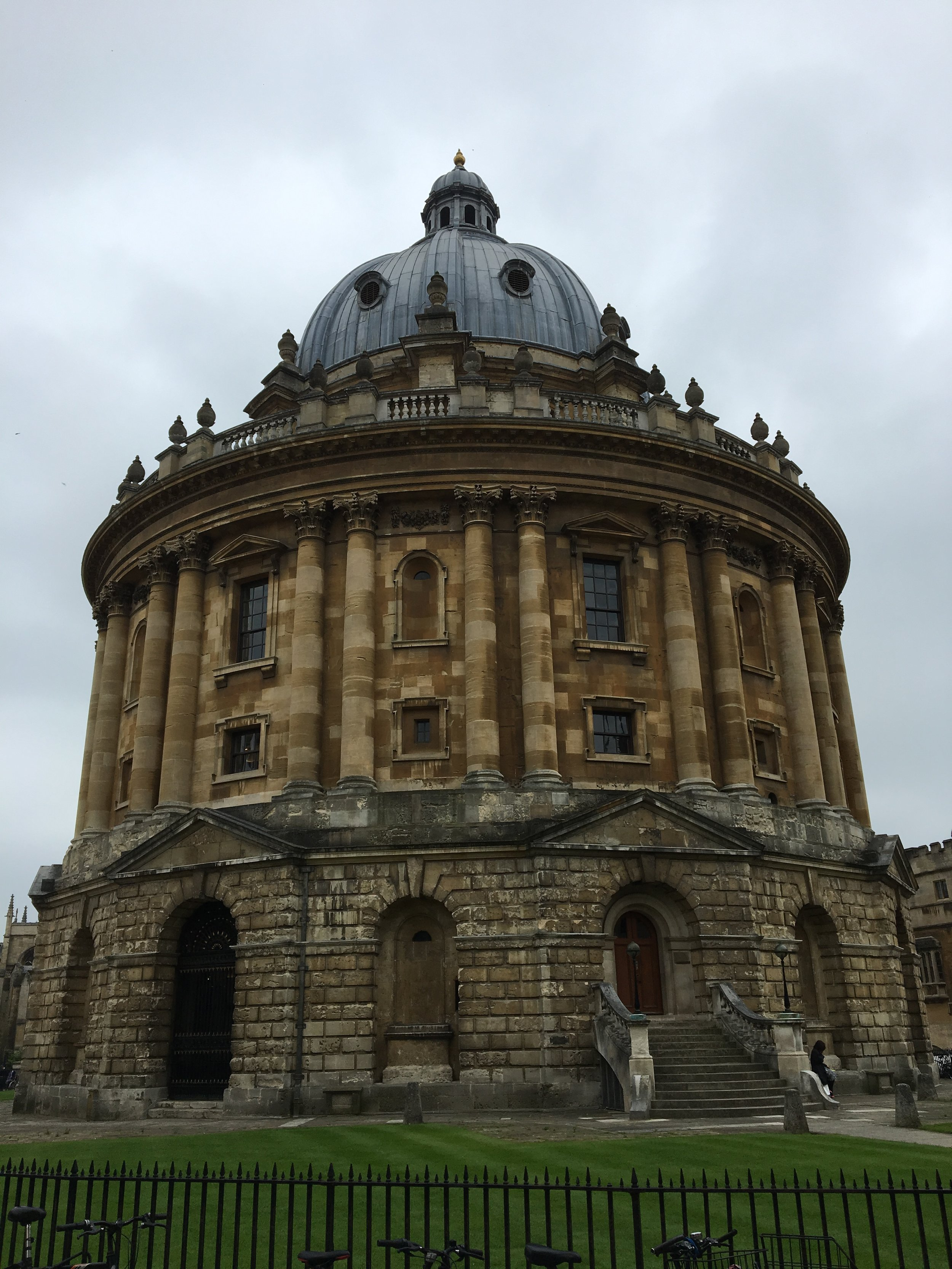 The Bodleian at Oxford