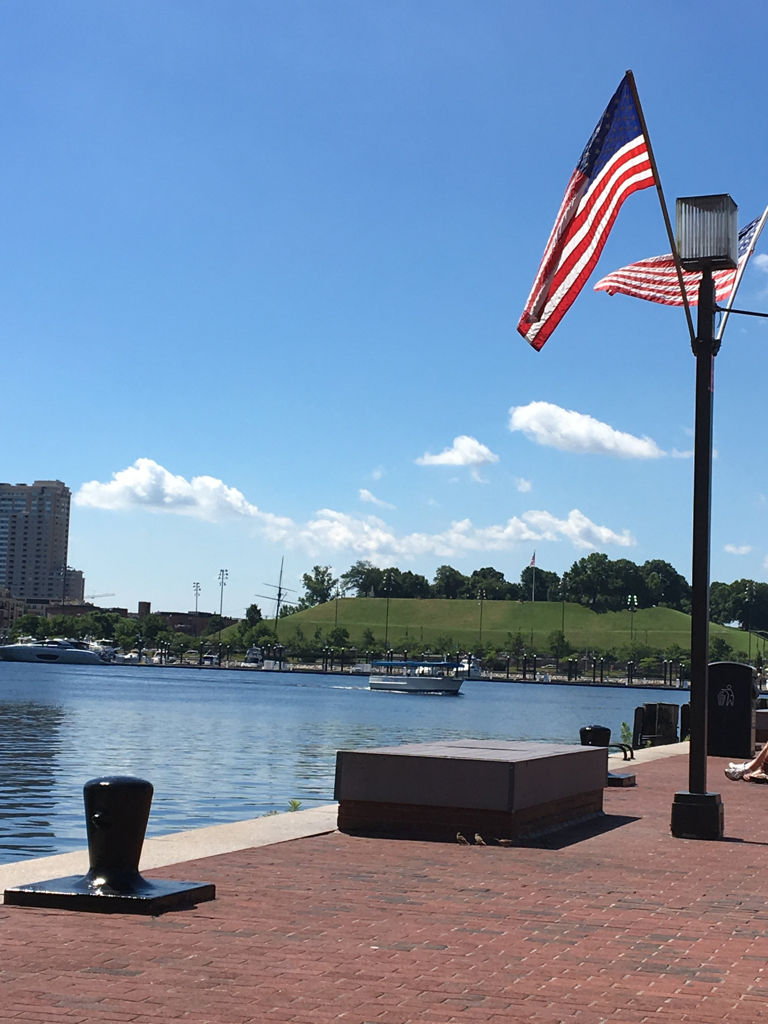 Fort McHenry from the Inner Harbor in Baltimore