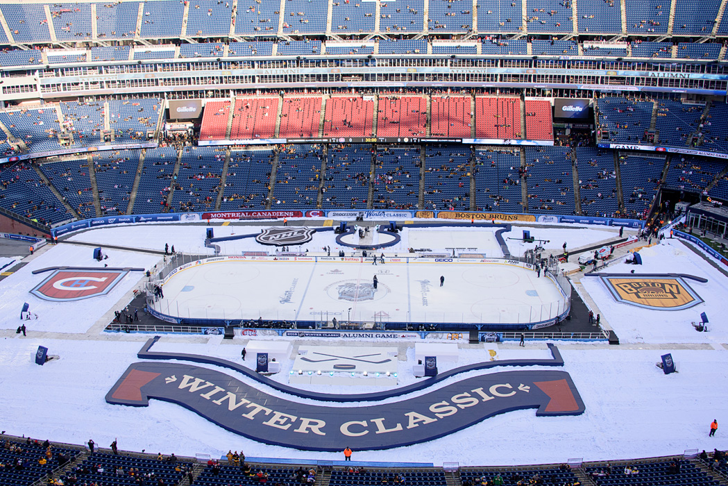 Some years exciting things are happening in our own hometown, such as last year's NHL Winter Classic outdoor hockey game.  Most everyone's hometown has something interesting happening over the winter holidays!