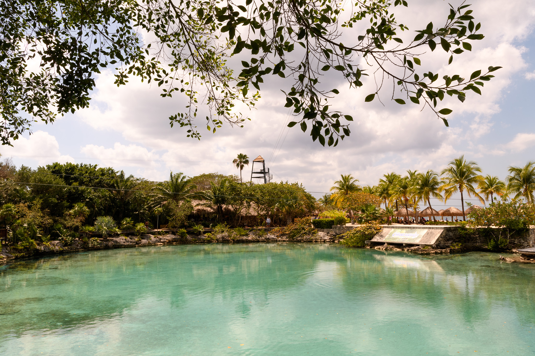 The park is named for this beautiful lagoon