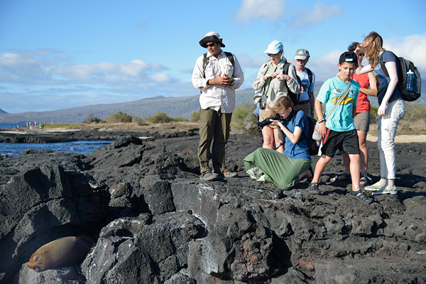 Small group, expertly guided adventures like this trip to the Galapagos appeal to the solo traveler where they will be integrated and included in all the activities and meals.