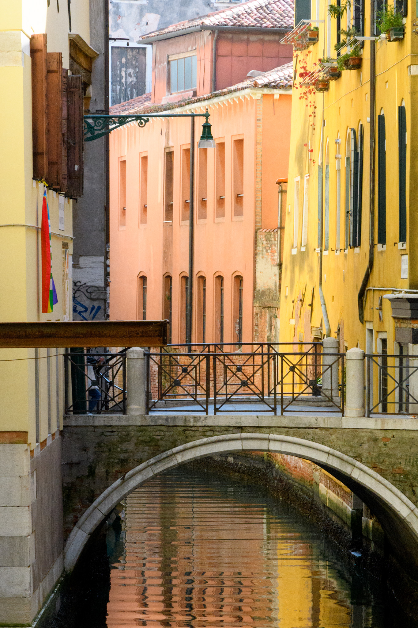What makes Venice so atmospheric is that every turn reveals another beautiful view.