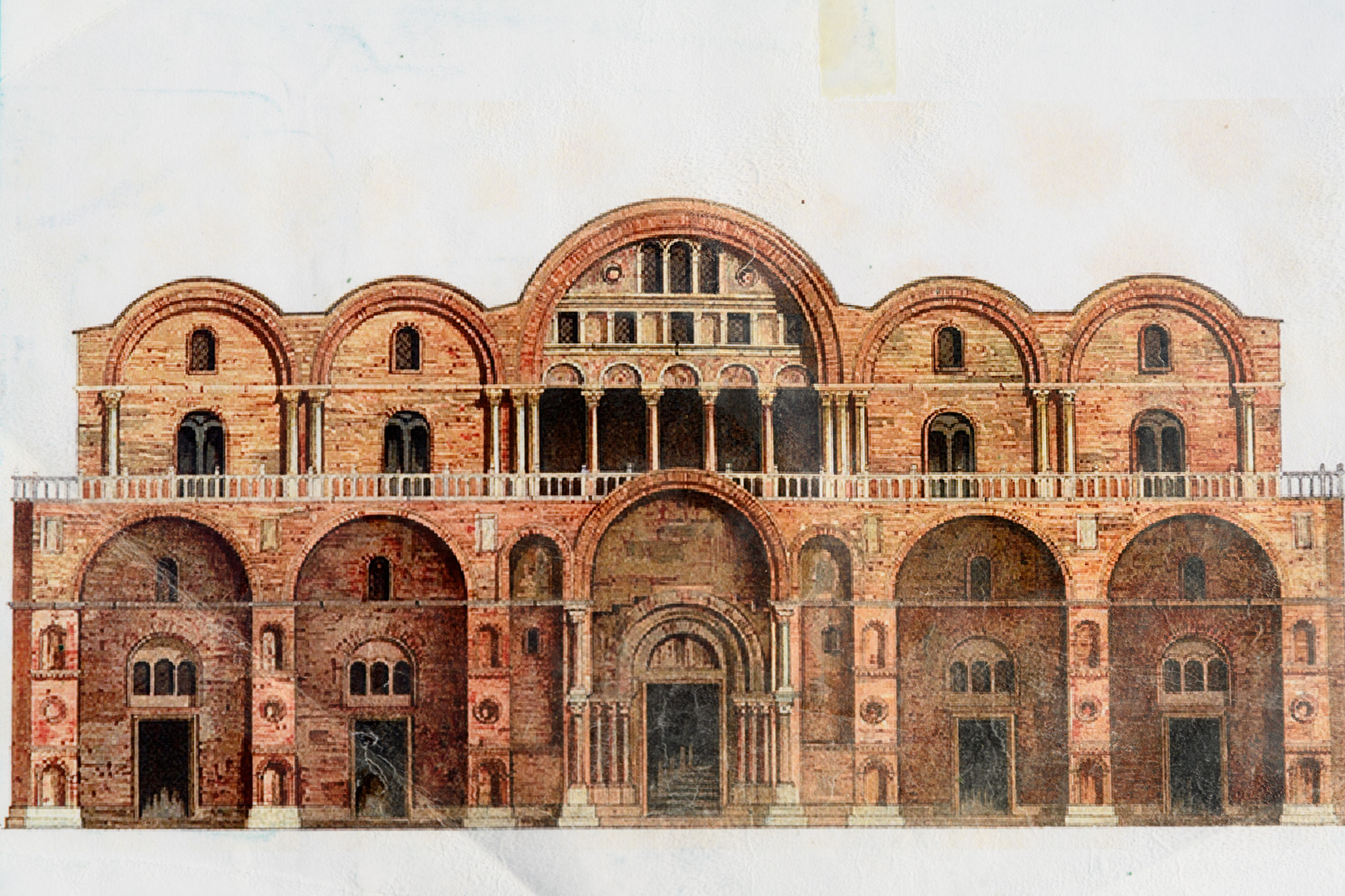 Photo of uncredited illustration of Saint Mark's Bascillica