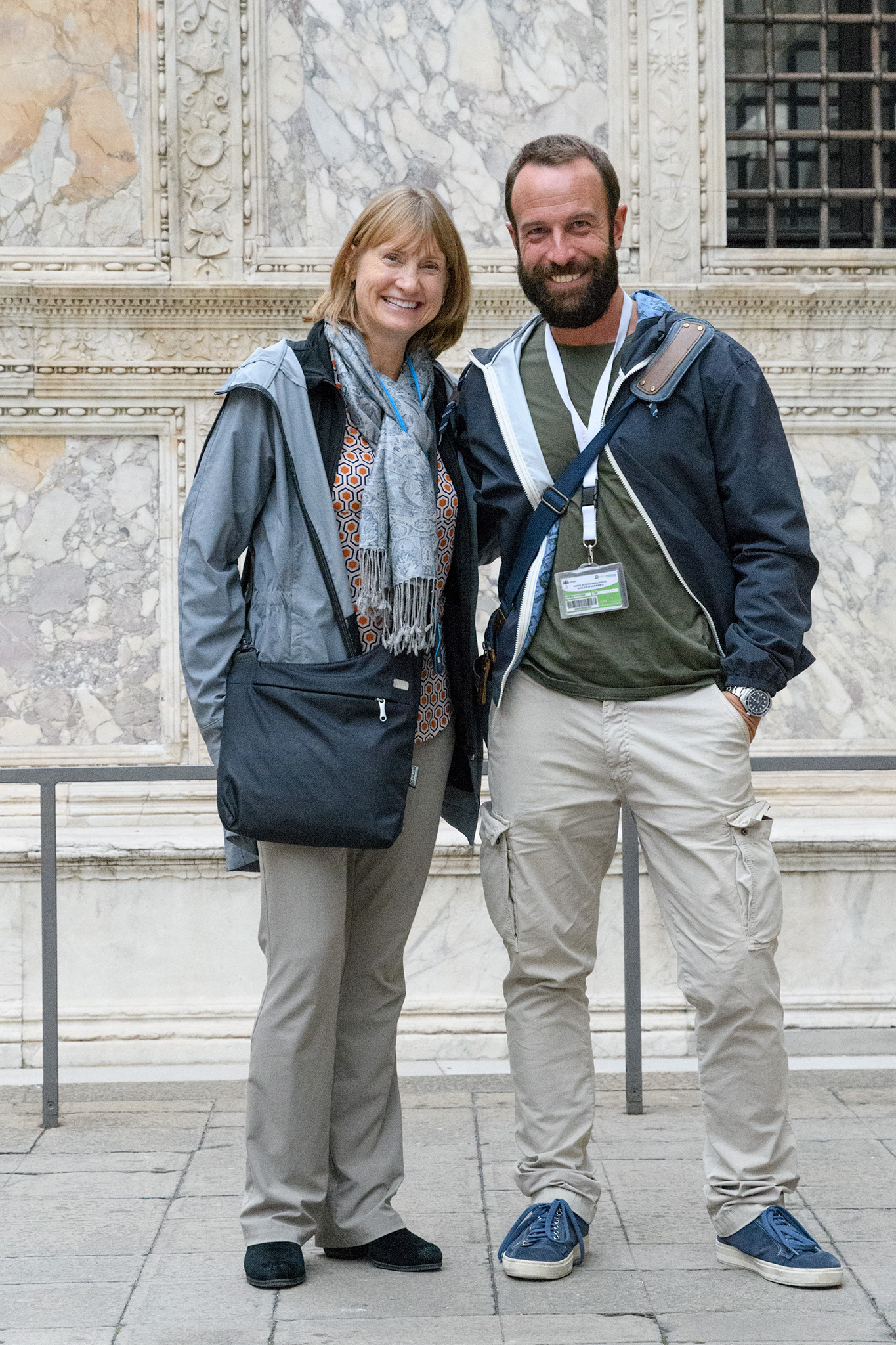 Our guide, Andrea Bressan