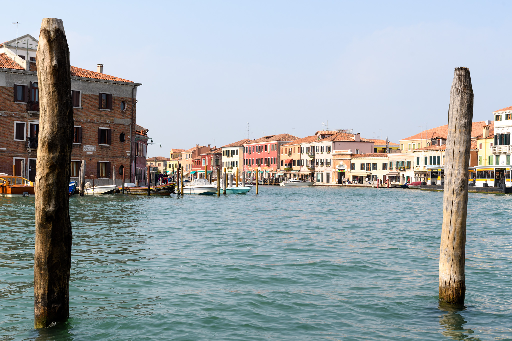Palazzo along the canal in Murano