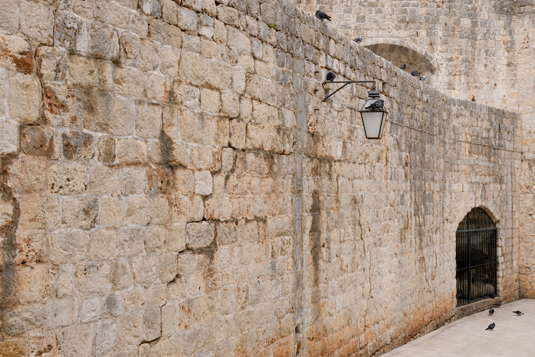 The walls of the city