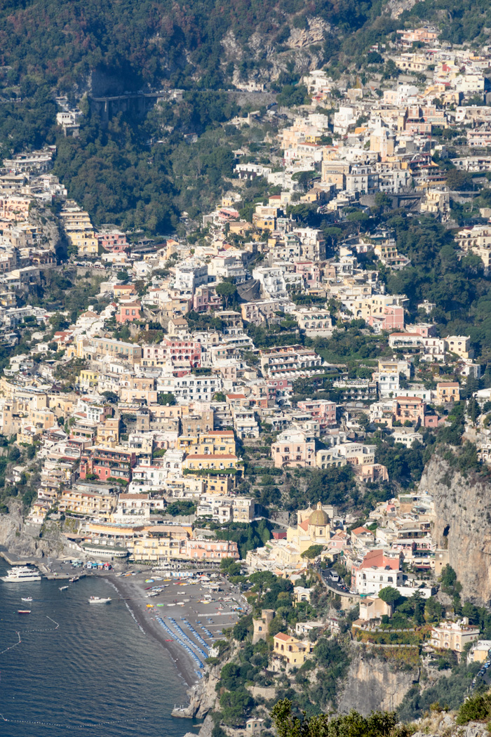 Positano from the Path of the Gods