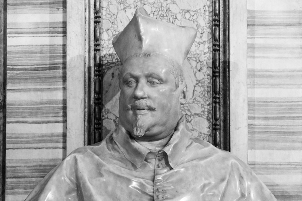 Bernini statue of Cardinal Borghese, nephew of Pope Paul V
