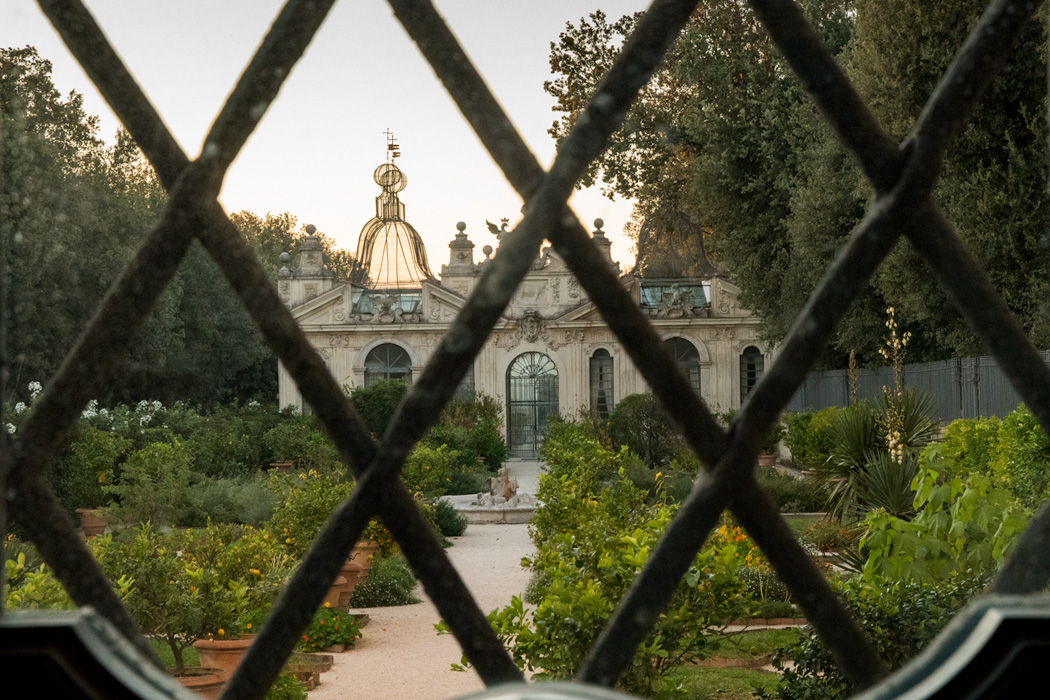 View from the Borghese villa