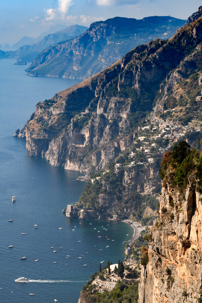 Amalfi Coast from the Path of the Gods. For our  Amalfi Coast Trip Report  click here