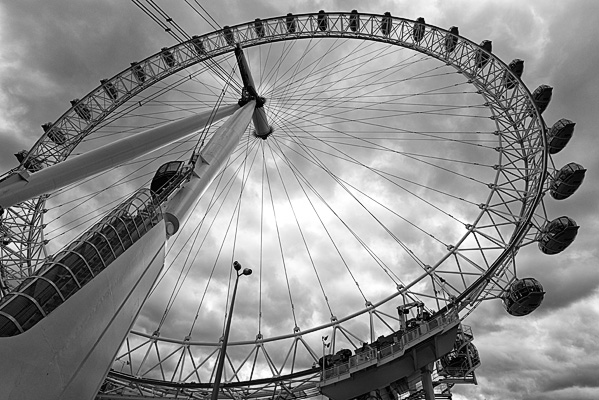 """Another way to """"get high"""", especially in the cities, is to ride one of the many ferris wheels being added to many city's landscape."""