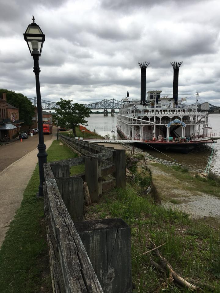 The American Queen in Greenville