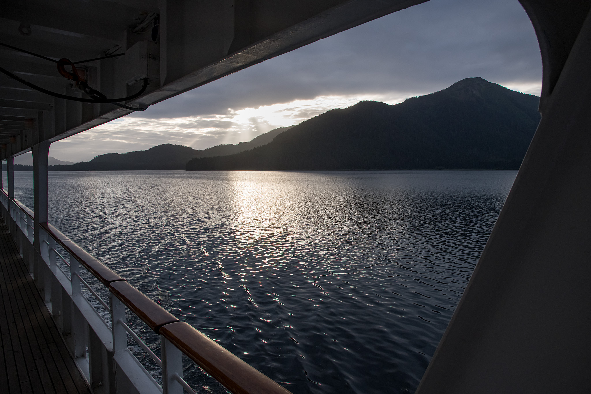 View from the Promenade Deck