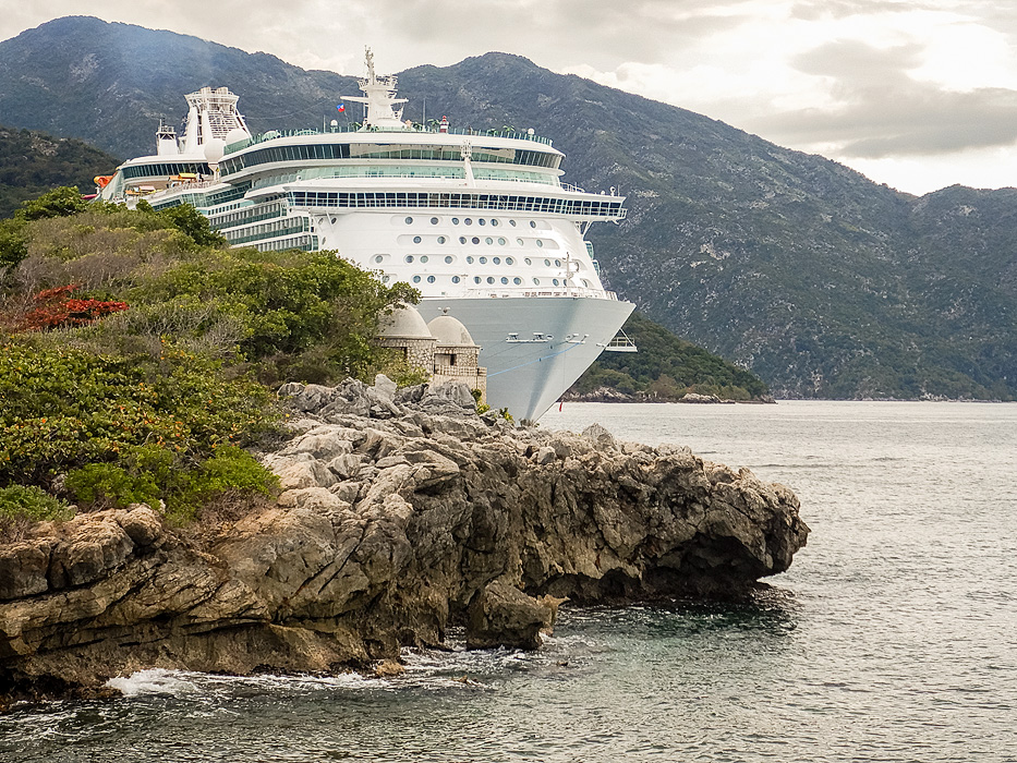 Navigator of the Seas at Labadee, RCI's private beach destination