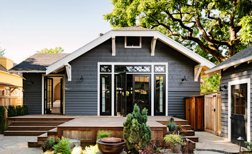 Craftsman Exterior  by  Portland General Contractors    The Works