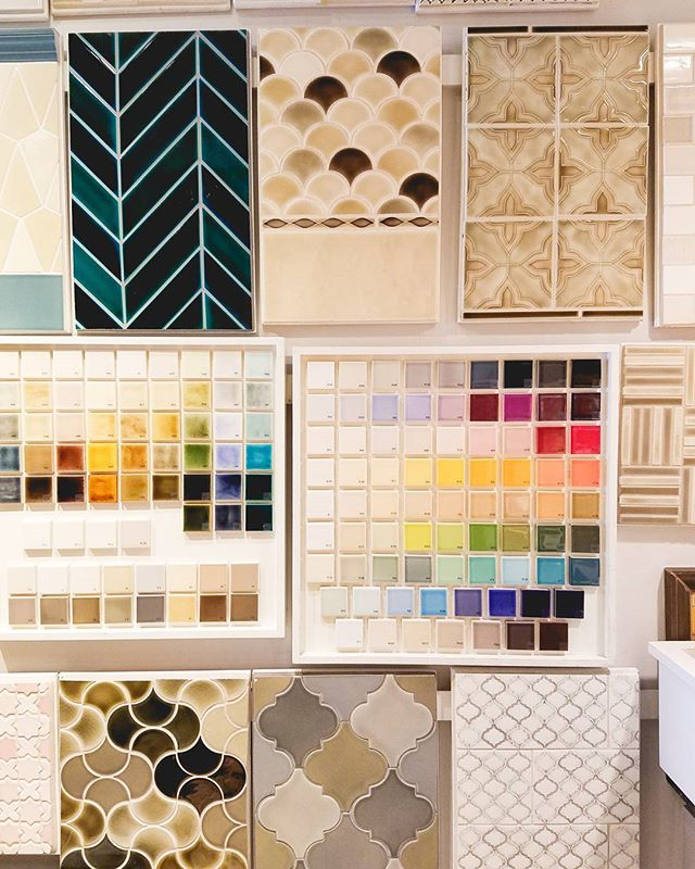 the stuff dreams are made of. looked at tile for the bathroom today!! #tile #thehousethatwaited