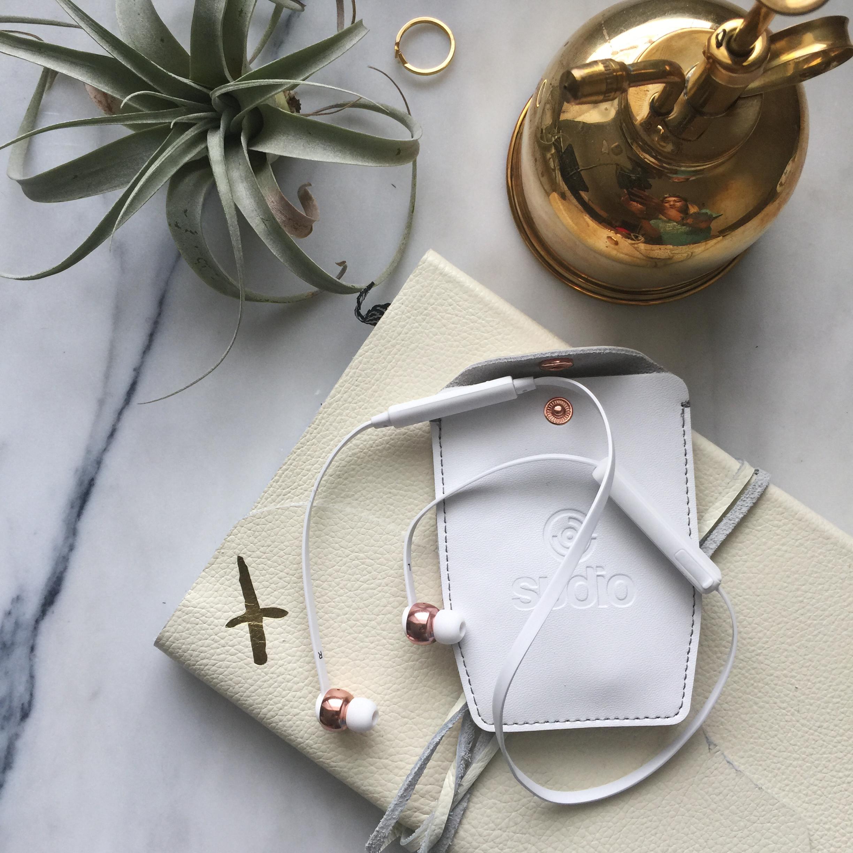 Vasa BLÅ - Rose Gold White