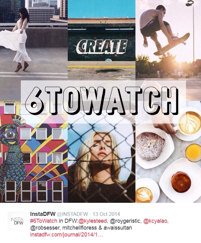 InstaDFW: #6ToWatch Local Feature