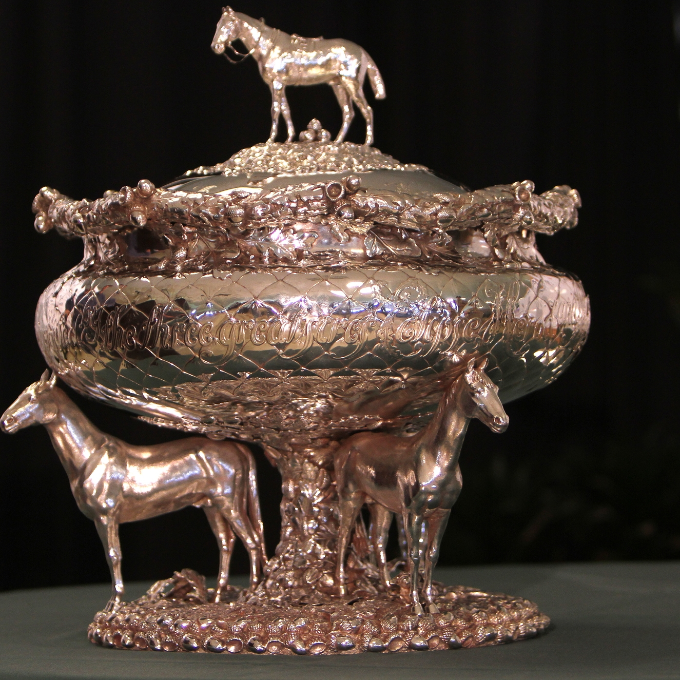 20306042014 Belmont Trophy 021 Post position draw BELMONT (Sue Kawczynski-ESW-CSW).JPG
