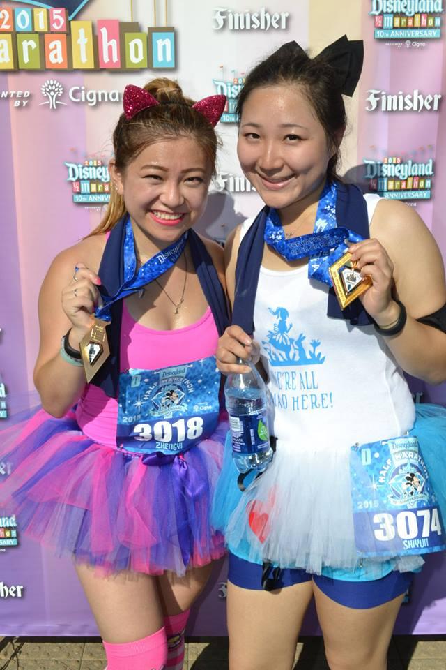 risa xu disneyland diamond half marathon rundisney