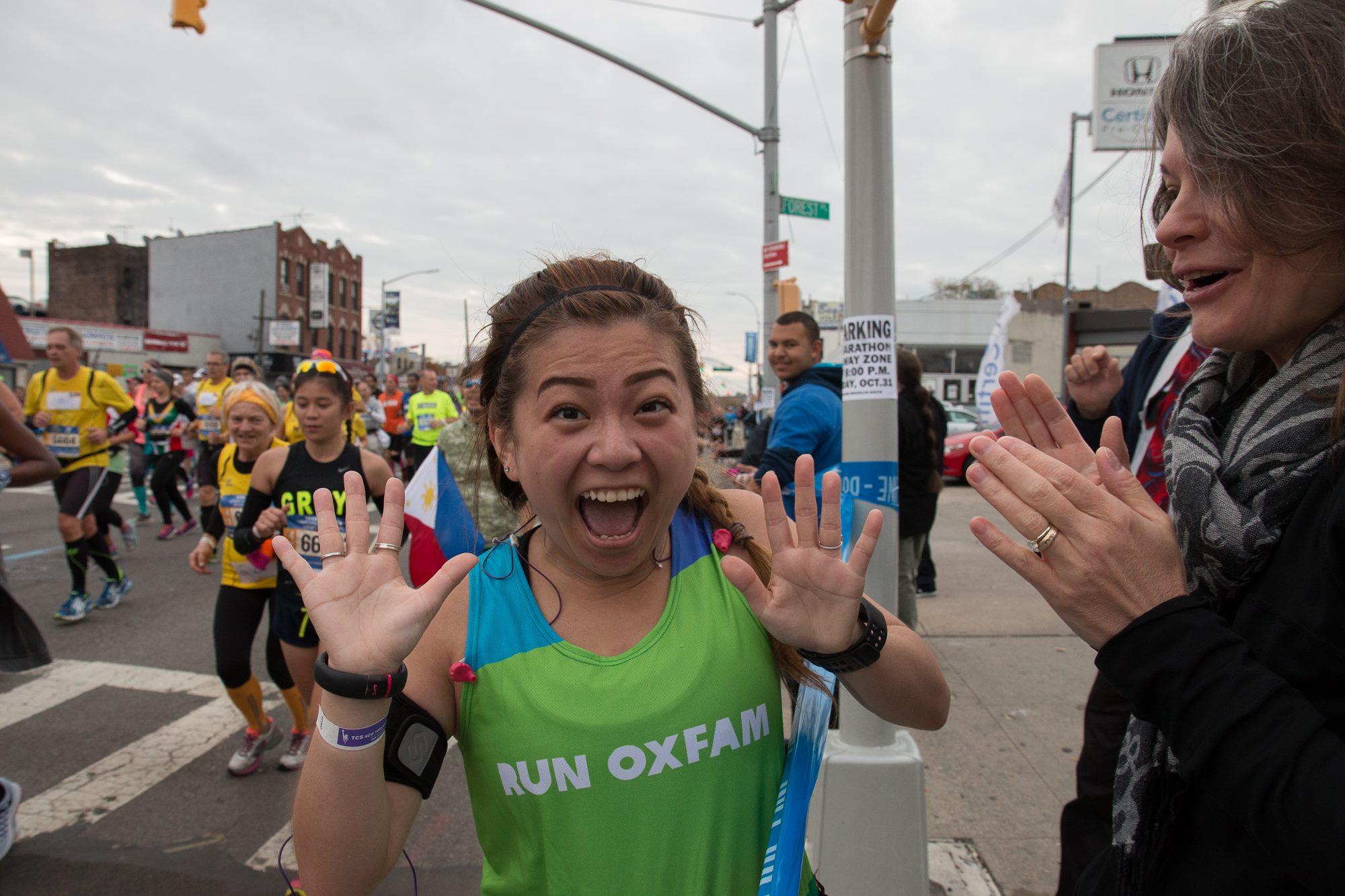 risa xu nyc marathon brooklyn 2015