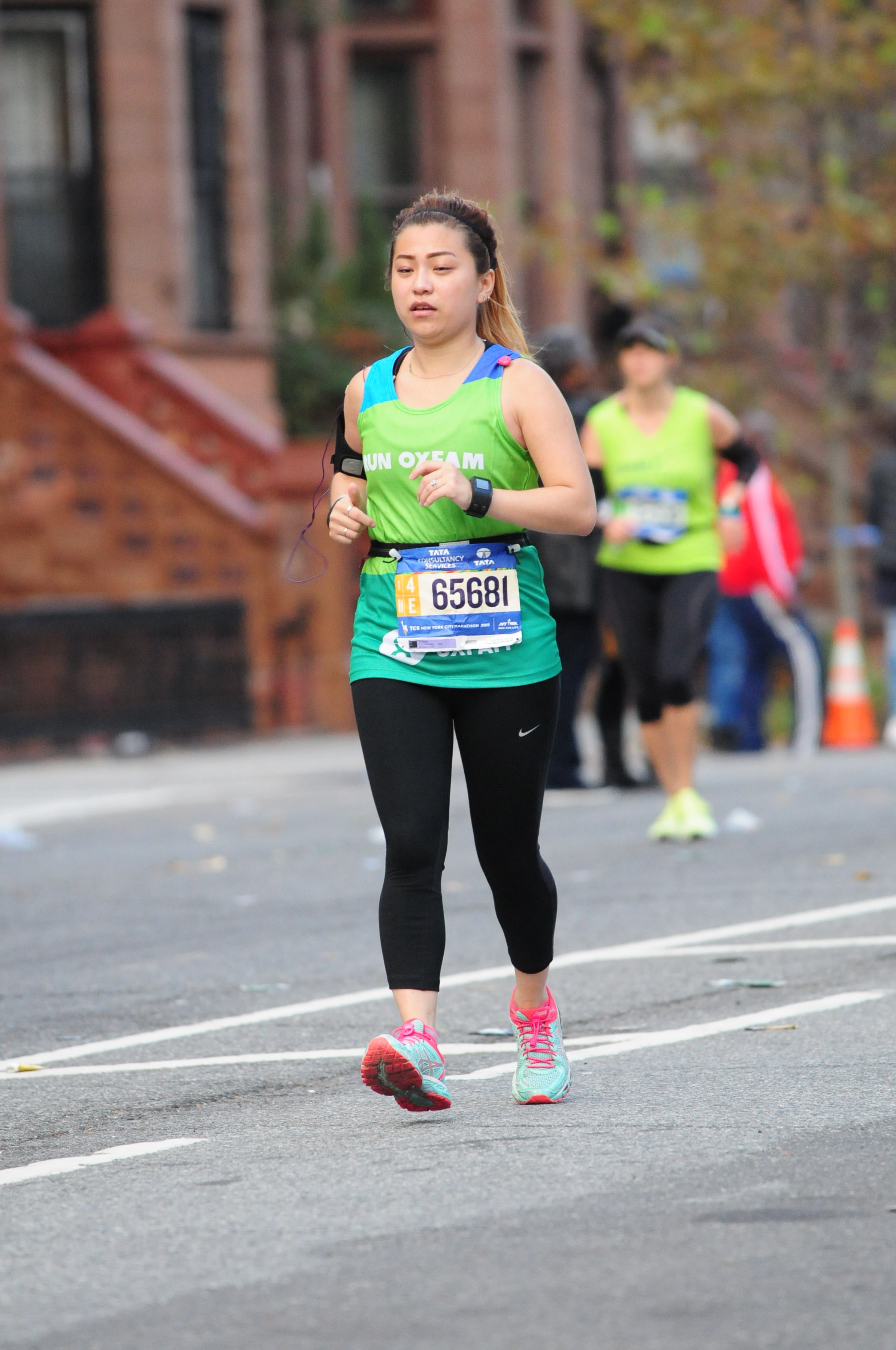 risa xu nyc marathon 2015