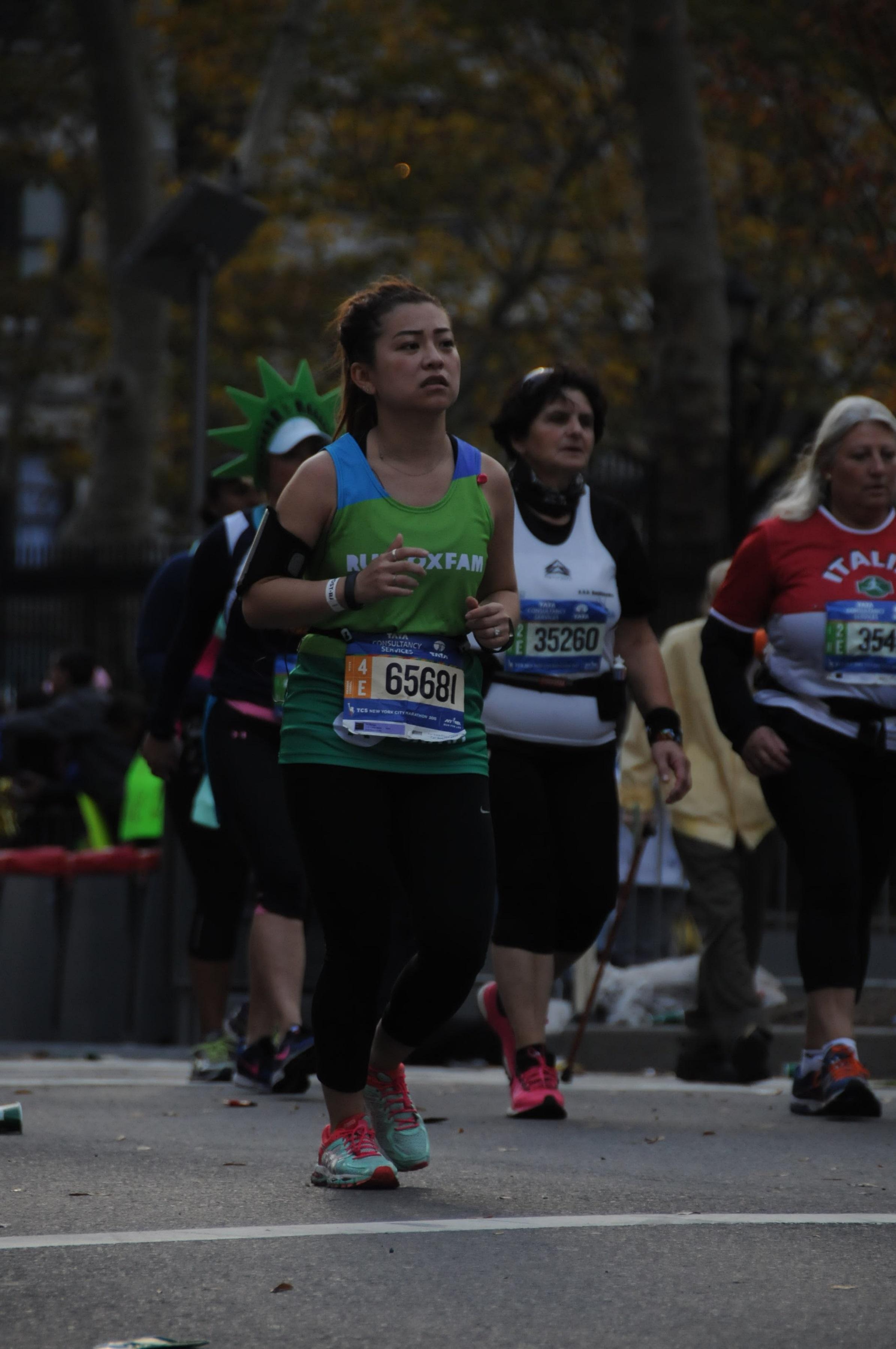 risa xu 2015 nyc marathon