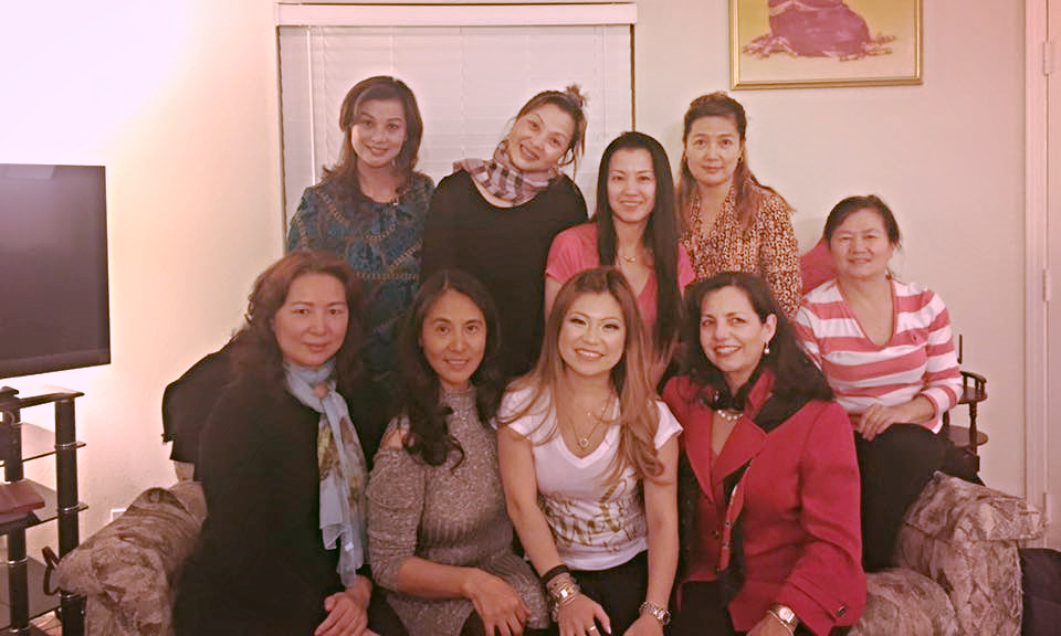 risa xu engagement party aunties