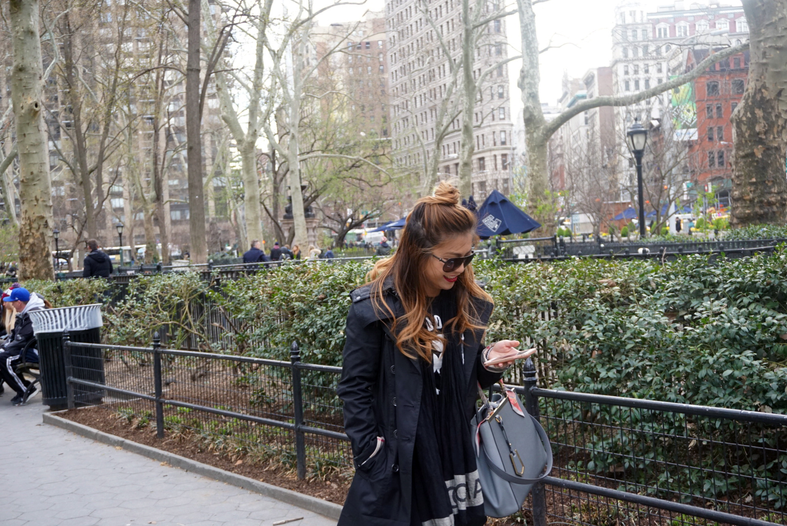 risa xu madison square park outfit