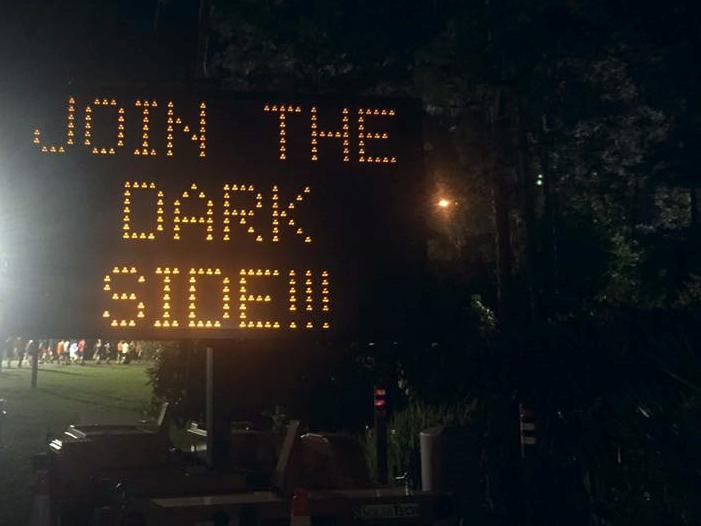 run disney join the dark side sign