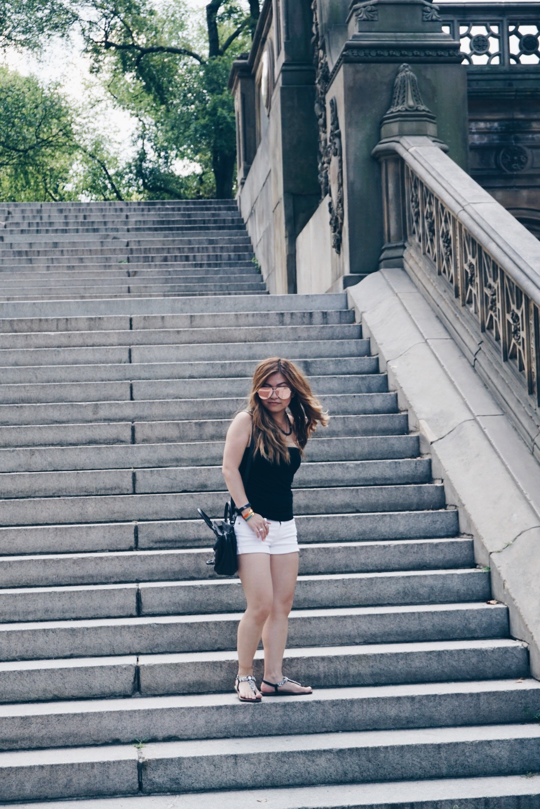 risa xu central park outfit nyc
