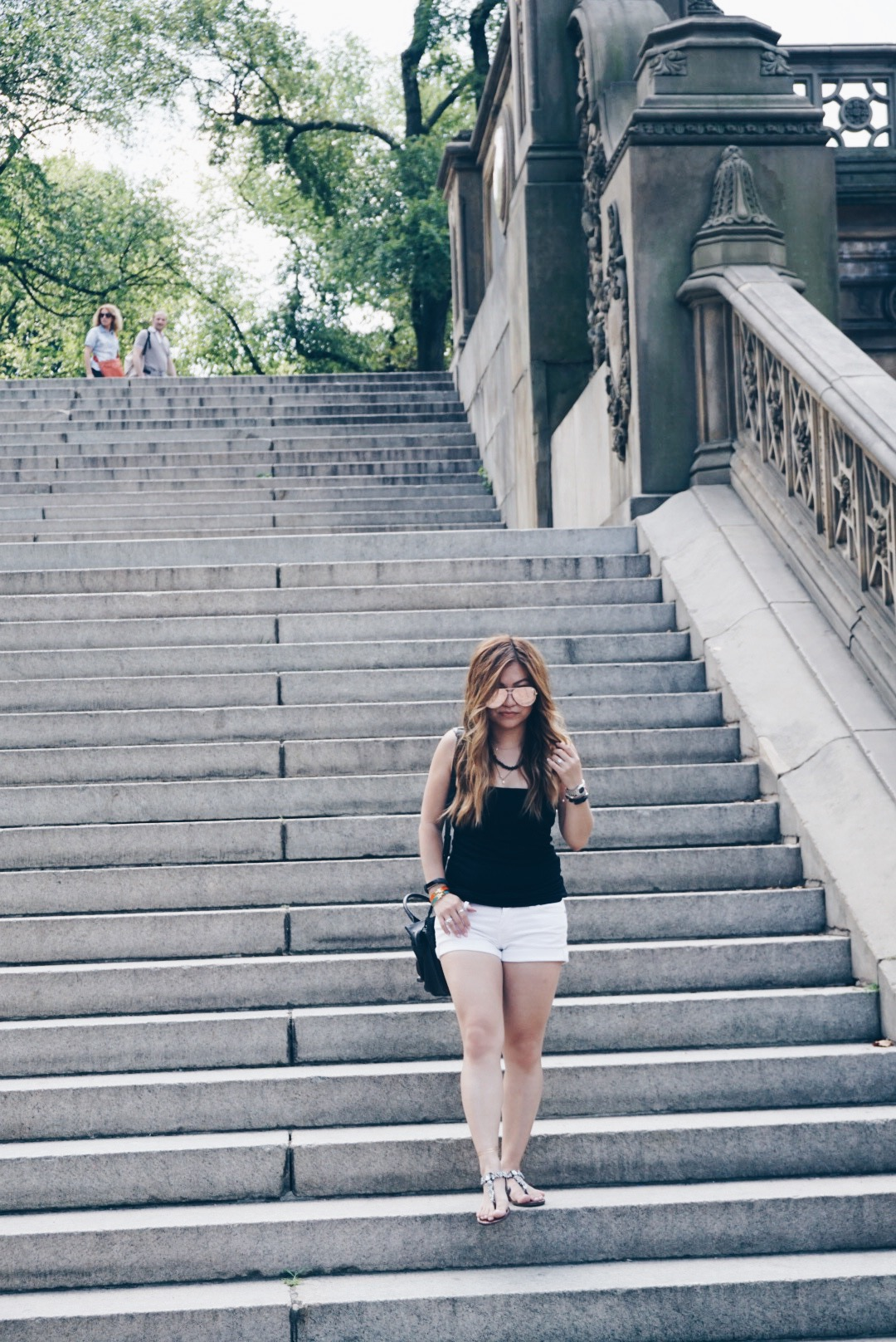 risa xu central park outfit