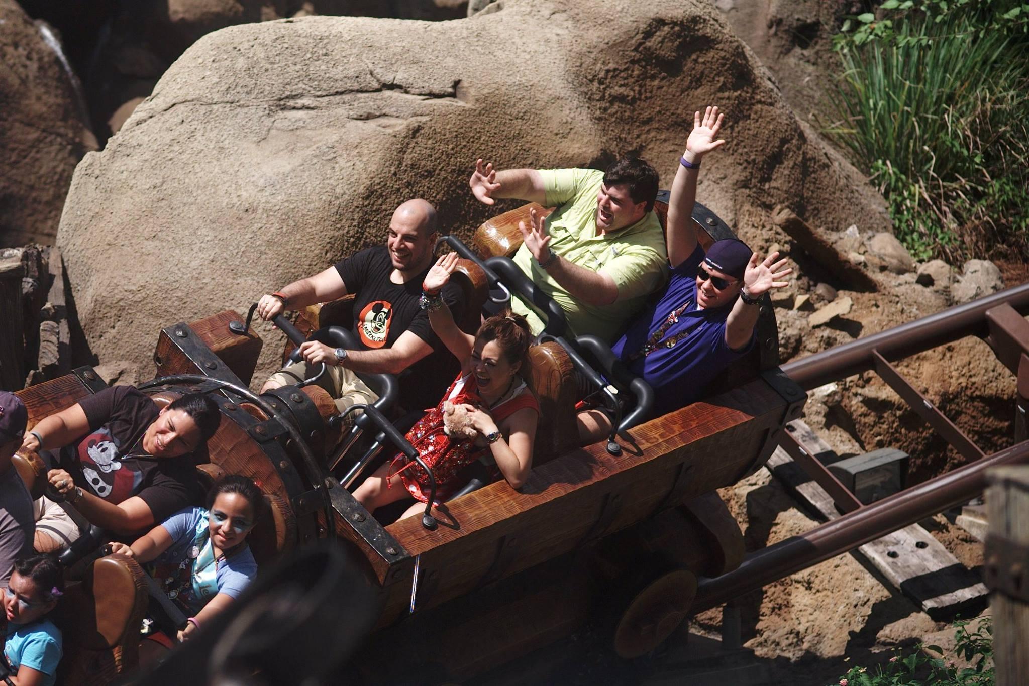 magic kingdom seven dwarfs mine train risa xu
