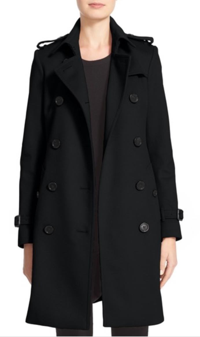 burberry kensington wool cashmere coat