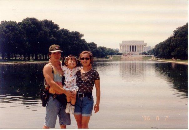 risa xu 1996 lincoln memorial
