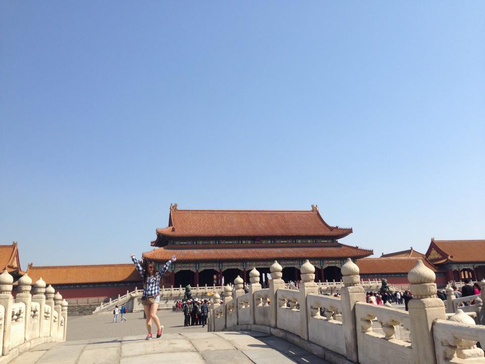 risa xu forbidden city china