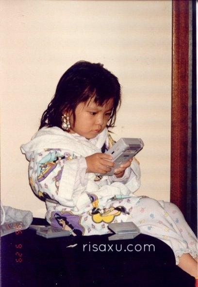 risa xu baby picture gameboy princess jasmine robe