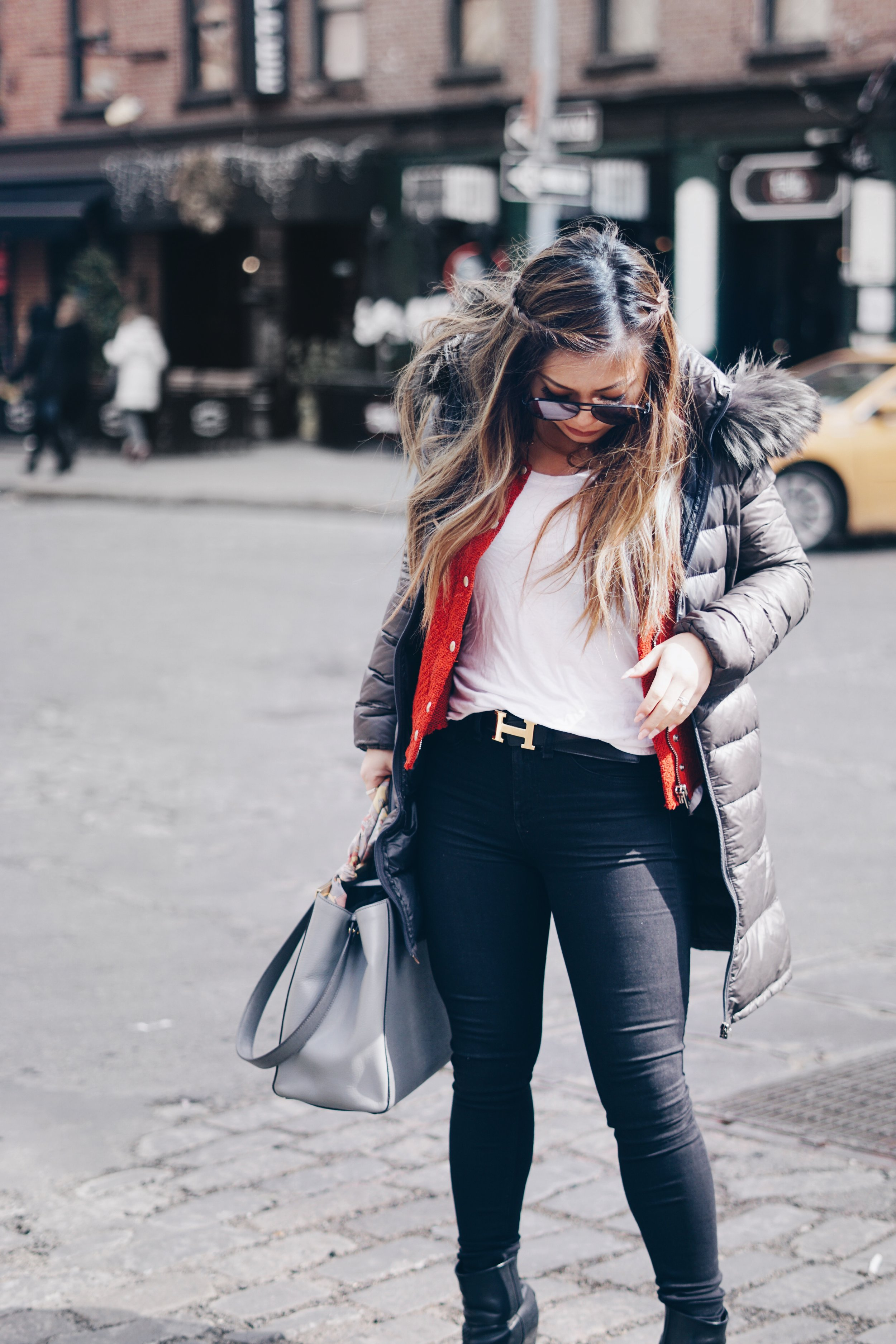risa xu nyc petite blogger outfit meatpacking